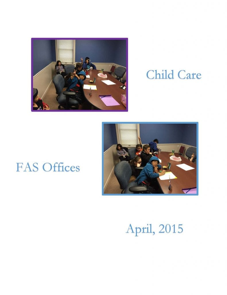 Child Care - April 2015