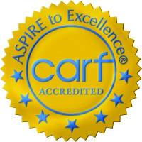 CARF Accredited Gold Seal