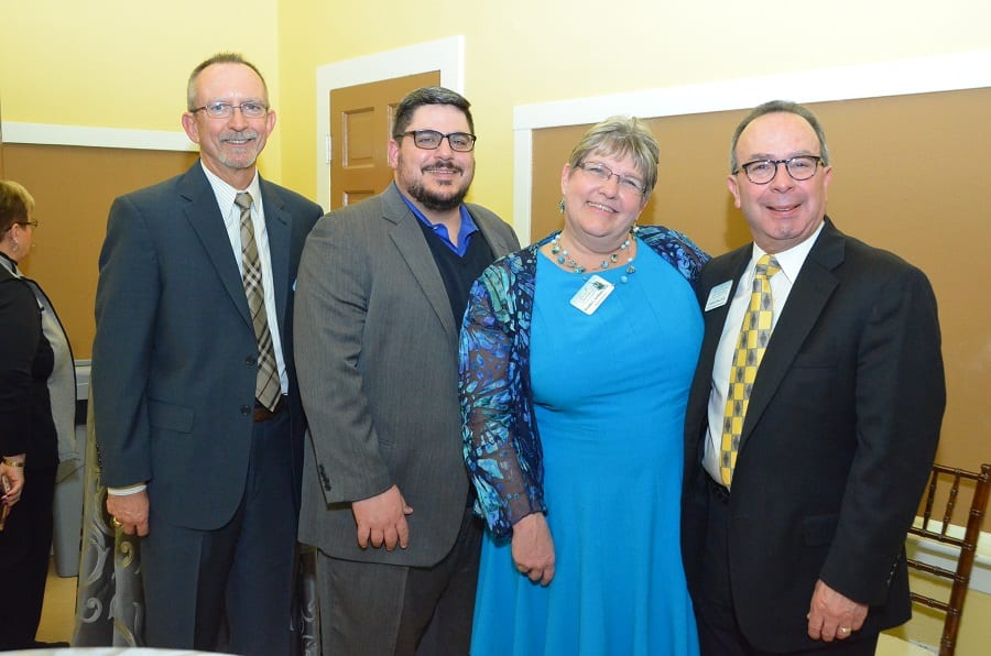 Pictured left to right are new members of For All Seasons Psychiatry Team: Allan A. Anderson, MD; William H. Cerrato, DO; Brenda C. Scribner, MD, Medical Director at For All Seasons; and Laurence J. Pezor, MD, CHE.
