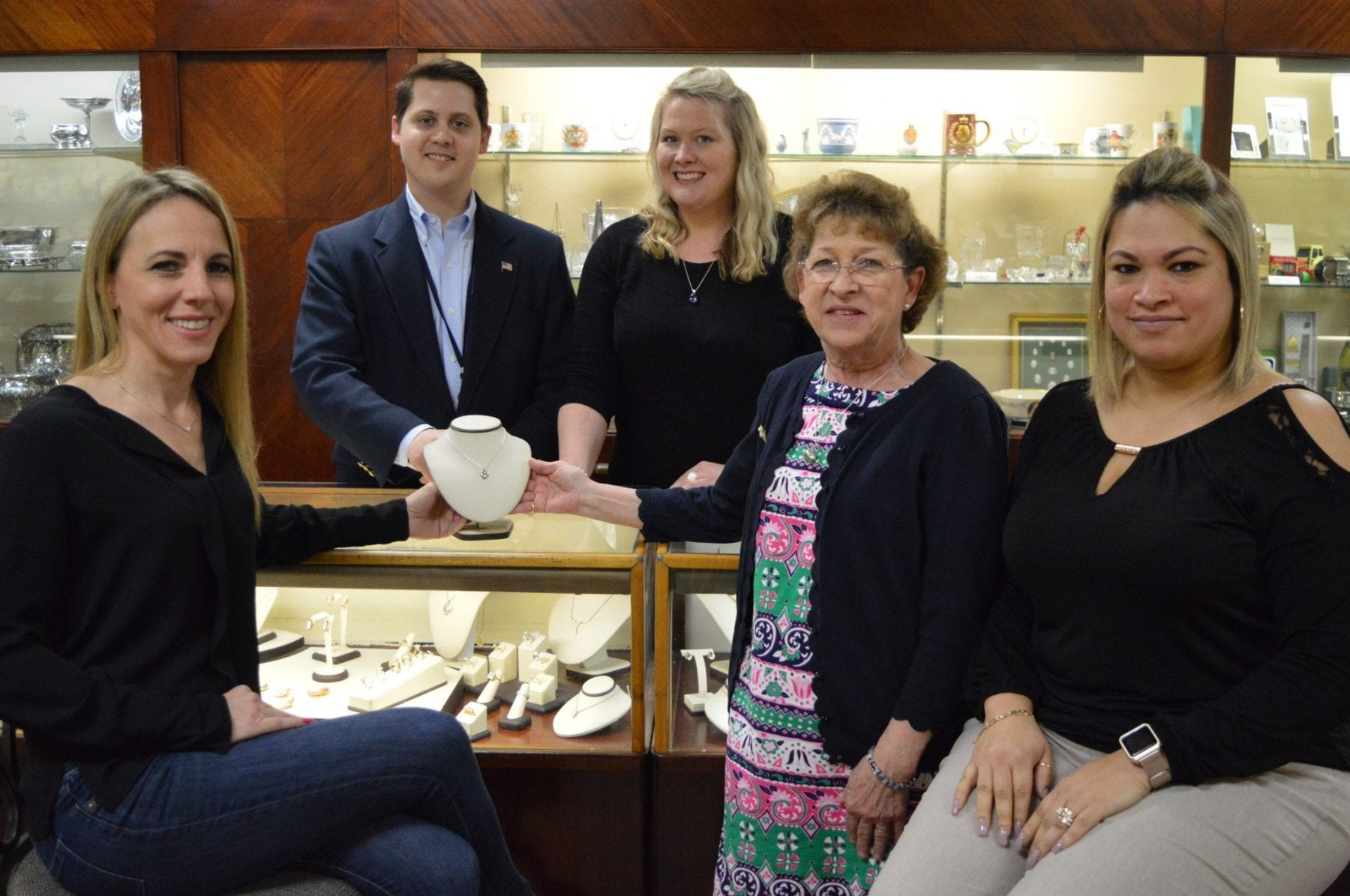 Thomas's Fine Jewelry Donates to For All Seasons Kits