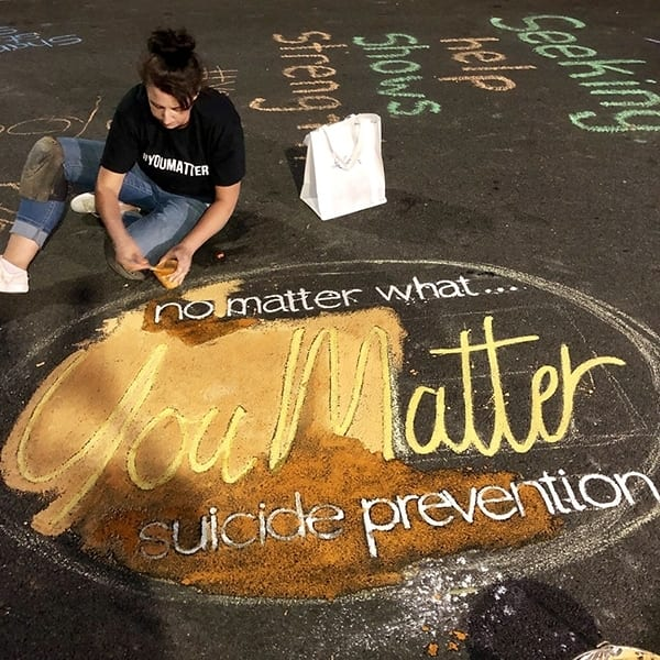 No Matter What. . . You Matter Campaign Targets Suicide Prevention