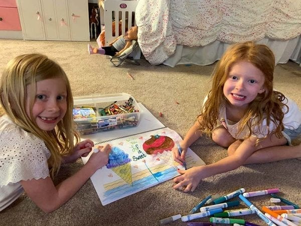 Color Me Closer | Coloring in Pairs Coloring Book